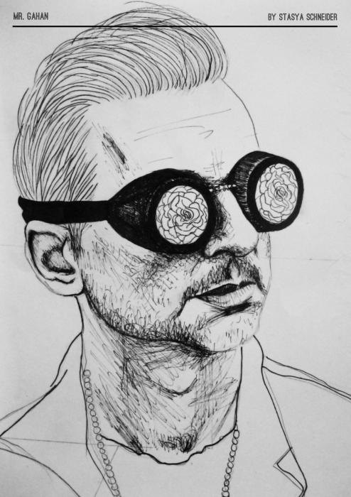Dave Gahan par TrevorReznik